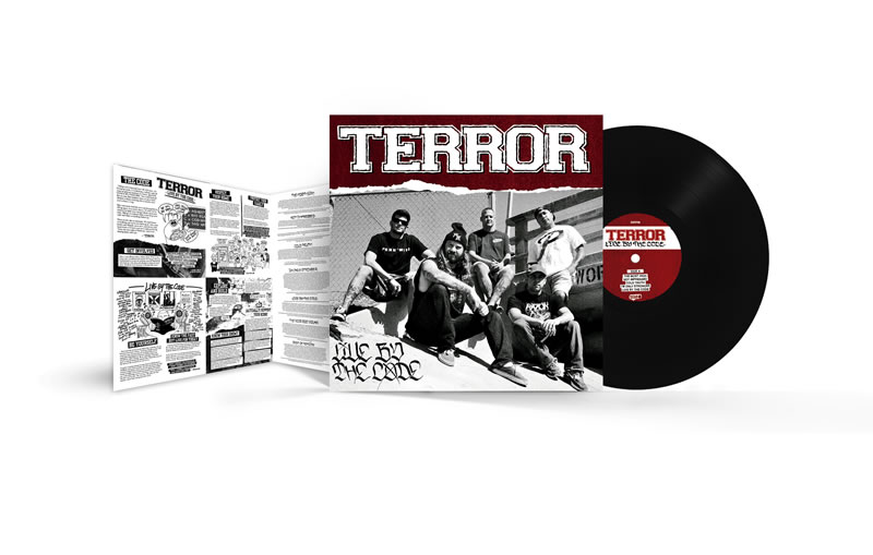 TERROR - Live by the Code (Black)