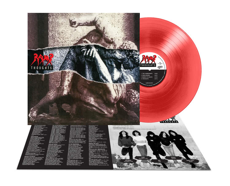 RAMP - Thoughts (LP, Red)