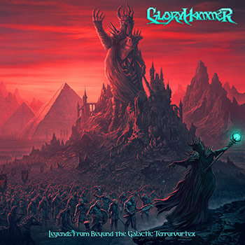 GLORYHAMMER - Legends From Beyond The Galactical Terrorvortex