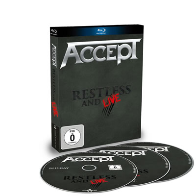 Restless and live BLU-RAY