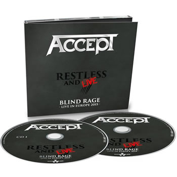 ACCEPT - Restless and live - Blind rage - Live in Europe 20