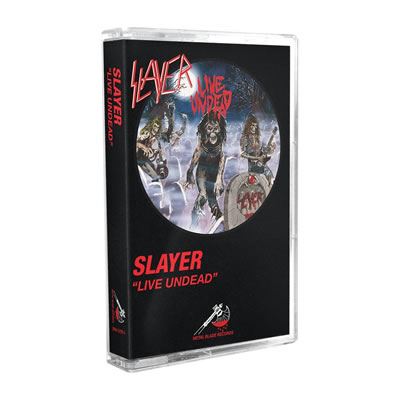 SLAYER - Live undead (MC)