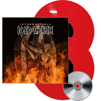 ICED EARTH - Incorruptible (Deluxe Artbook)