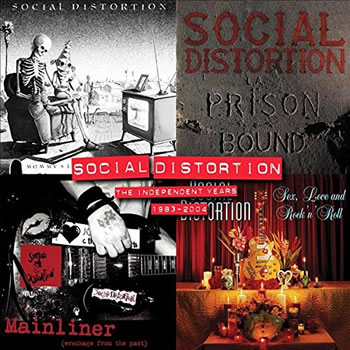 SOCIAL DISTORTION - The Independent Years: 1983-2004