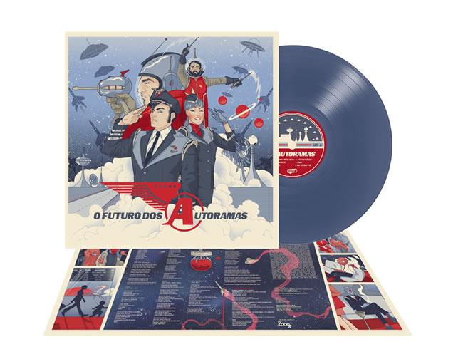 AUTORAMAS - O futuro dos Autoramas (Blue Vinyl)