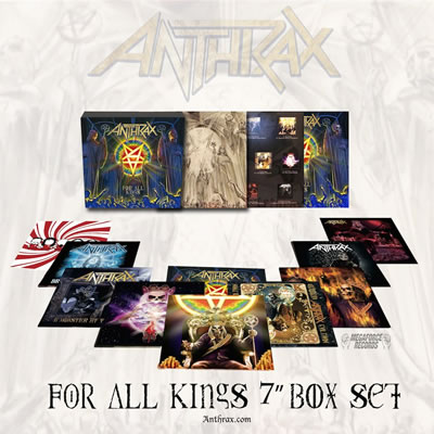"ANTHRAX - For all kings (7"" BOX SET)"