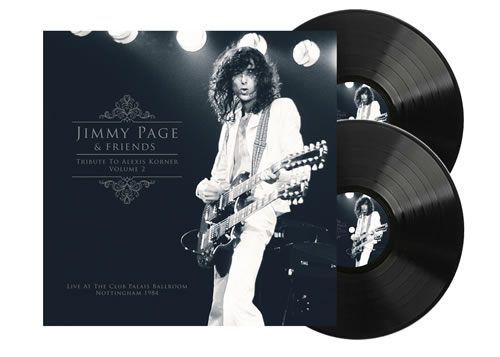 JIMMY PAGE - Tribute To Alexis Korner Vol. 2