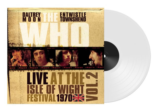 THE WHO - Live At The Isle Of White Vol. 1