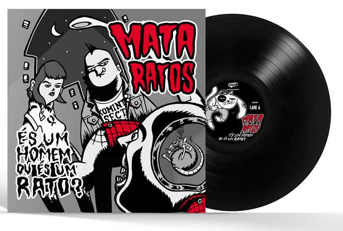 MATA RATOS - És um Homem ou És um Rato? (Black Vinyl)