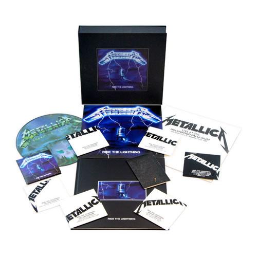 METALLICA - Ride the lightning (Box)