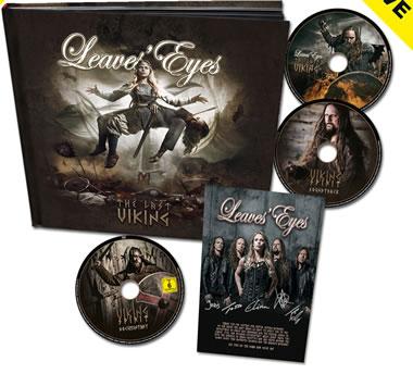 LEAVES EYES - The Last Viking (2CD + DVD)