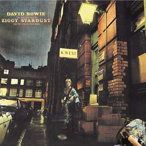 DAVID BOWIE - The Rise and Fall Of Ziggy Stardust And The Spiders