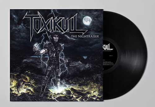 TOXIKULL - The Nightraiser (Black)