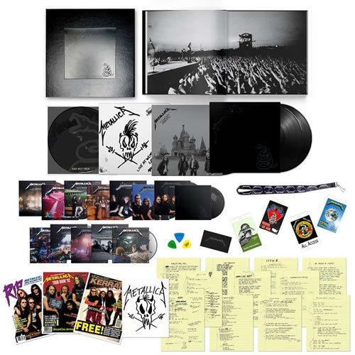 METALLICA - Metallica: Black Album (30th Anniversary Edition)