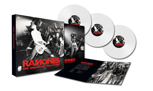 RAMONES (The) - The Broadcast Collection