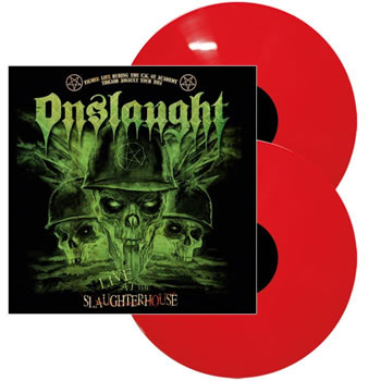 ONSLAUGHT - Live at the slaughterhouse  (Red)