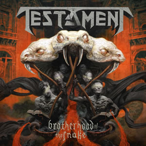 TESTAMENT - Brotherhood of the snake (LP)