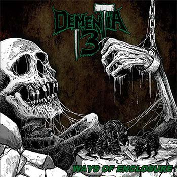 DEMENTIA 13 - Ways Of Enclosure (Green Vinyl)