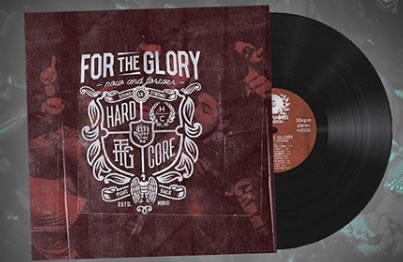 FOR THE GLORY - Now and Forever (LP + CD)
