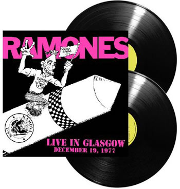 RAMONES (The) - Live In Glasgow December 19, 1977