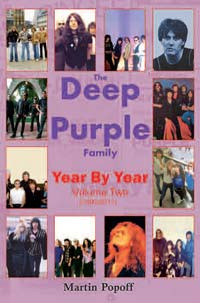 The Deep Purple story, year by year Volume 2