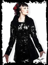 Black Latex Jacket