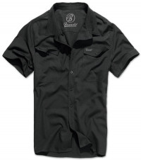 Roadstar shirt 1/2 sleeve - Black / Blue