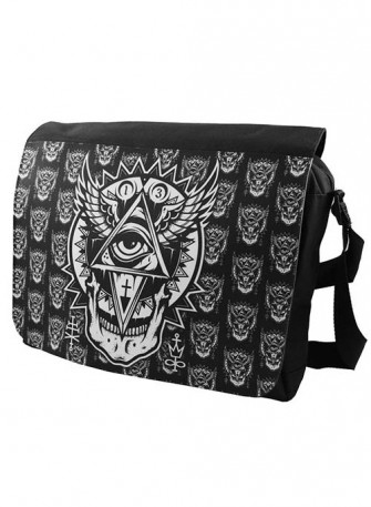 - All Seeing Eye Messenger Bag