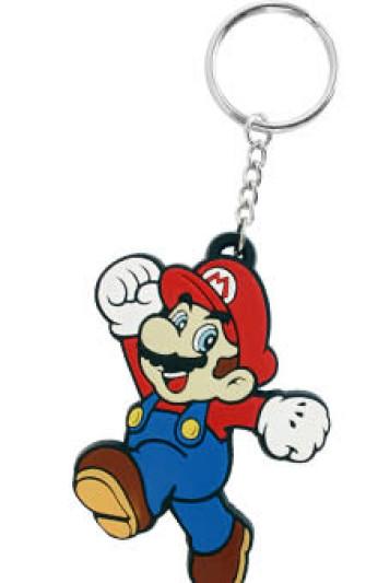 - Nintendo - Mario Rubber Key Chain