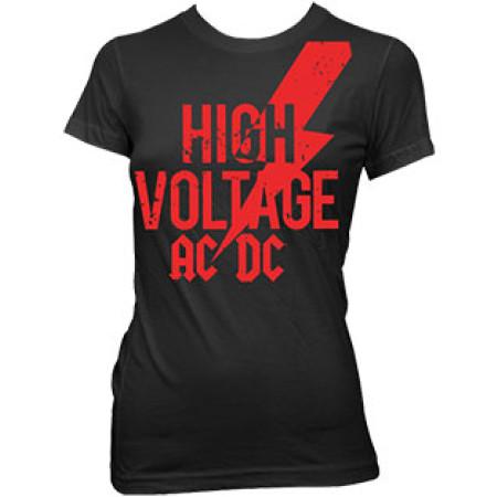 high voltage red logo skinny