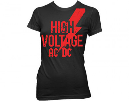 - high voltage red logo skinny