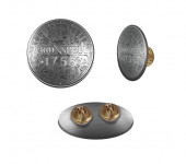 1755 Metal Pin Logo