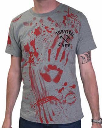 - Zombie Killer Grey T-Shirt