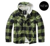 Lumberjacket hooded (Olive)