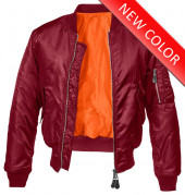 MA1 Jacket Burgundy