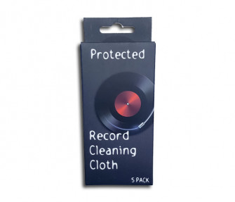 - Record cleaning wipe
