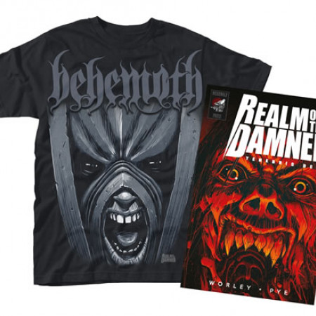 Real of the Damned (Book + Tshirt)