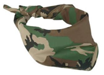 - Bandana Camouflage