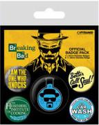 Breaking Bad - Heisenberg Badge Pack