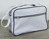 Bag Messenger retro white