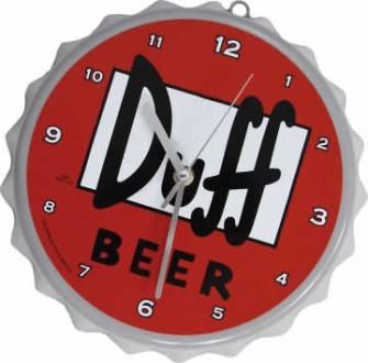 - Duff Beer Clock