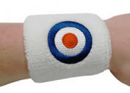 White Sweatband With Target