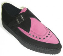 Steelground  Creeper shoe Pink suede