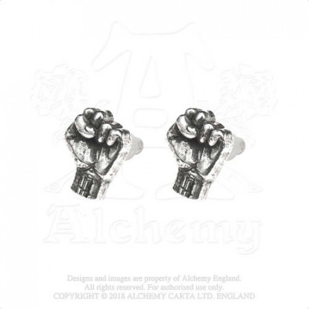 Rage Against The Machine Stud Earrings