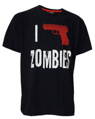 - I Shoot Zombies T-Shirt