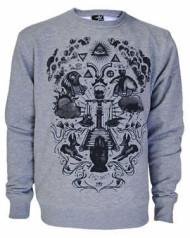 Seeing Eye Grey Sweatshirt