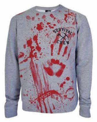 - Zombie Killer 13 Grey Sweatshirt