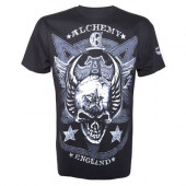 Alchemy - satan's shield solid mens t-shirt