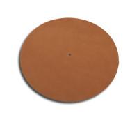 Record slipmat leather / Mat Six