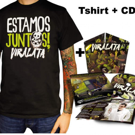Doa a Quem Doer CD + Tshirt